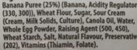Banana Bread - Ingrédients - fr