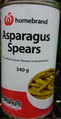 Homebrand Asparagus Spears - Product - en