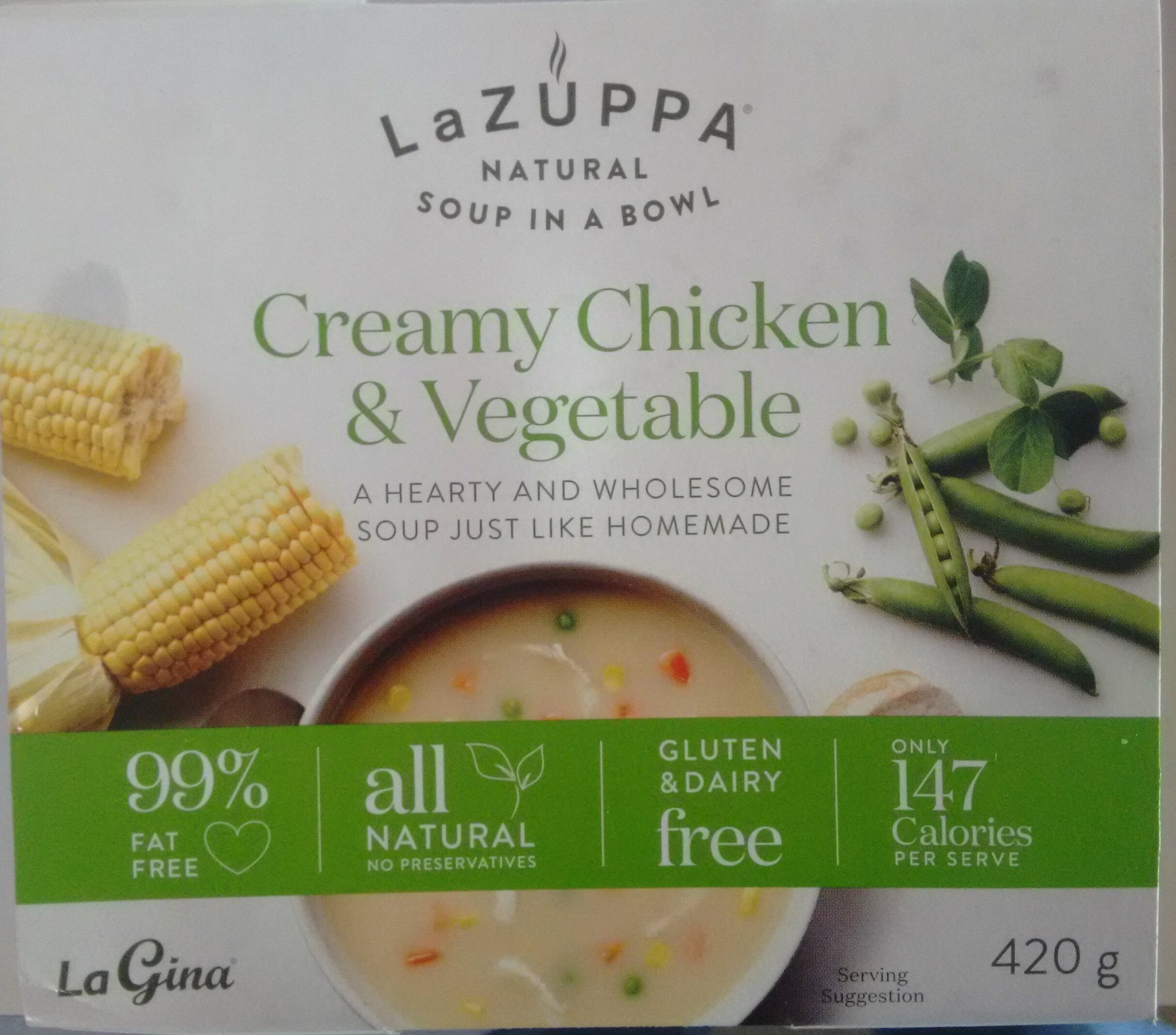 Creamy Chicken & Vegetable Soup - Product - en