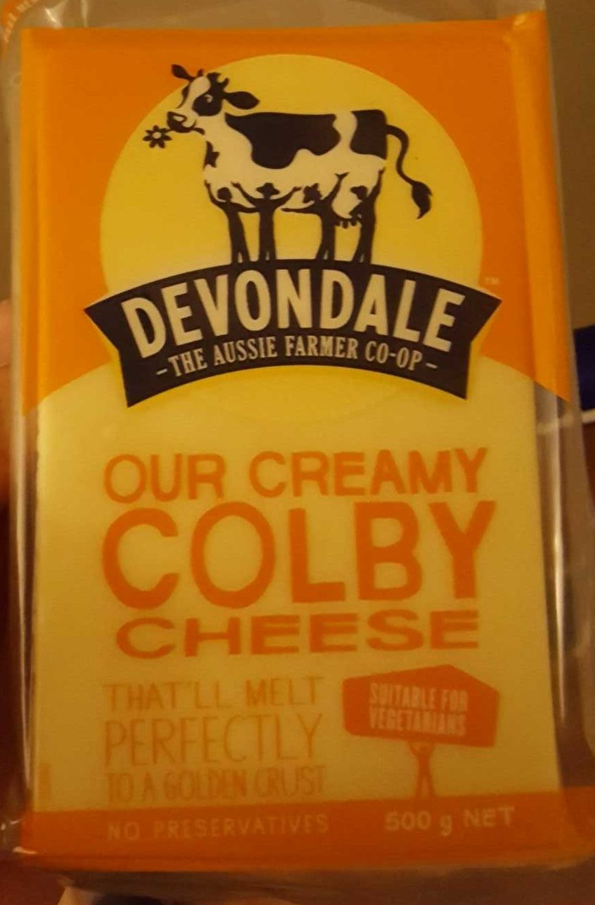 Devondale Our Creamy Colby - Product