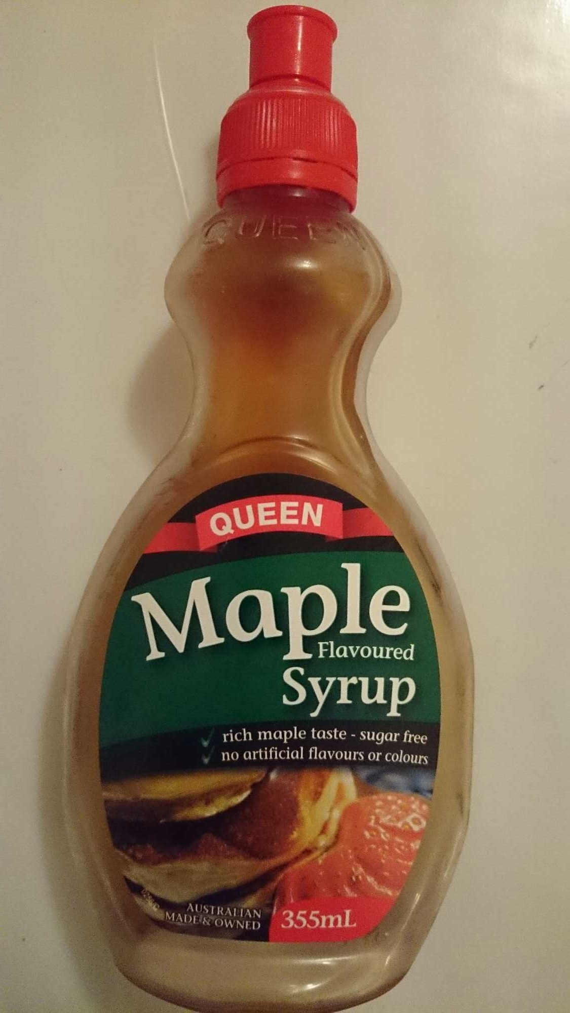 how to open maple syrup bottle wax