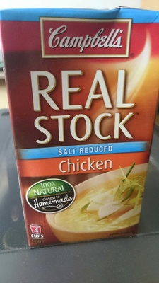 salt reduced Chicken stock - Product