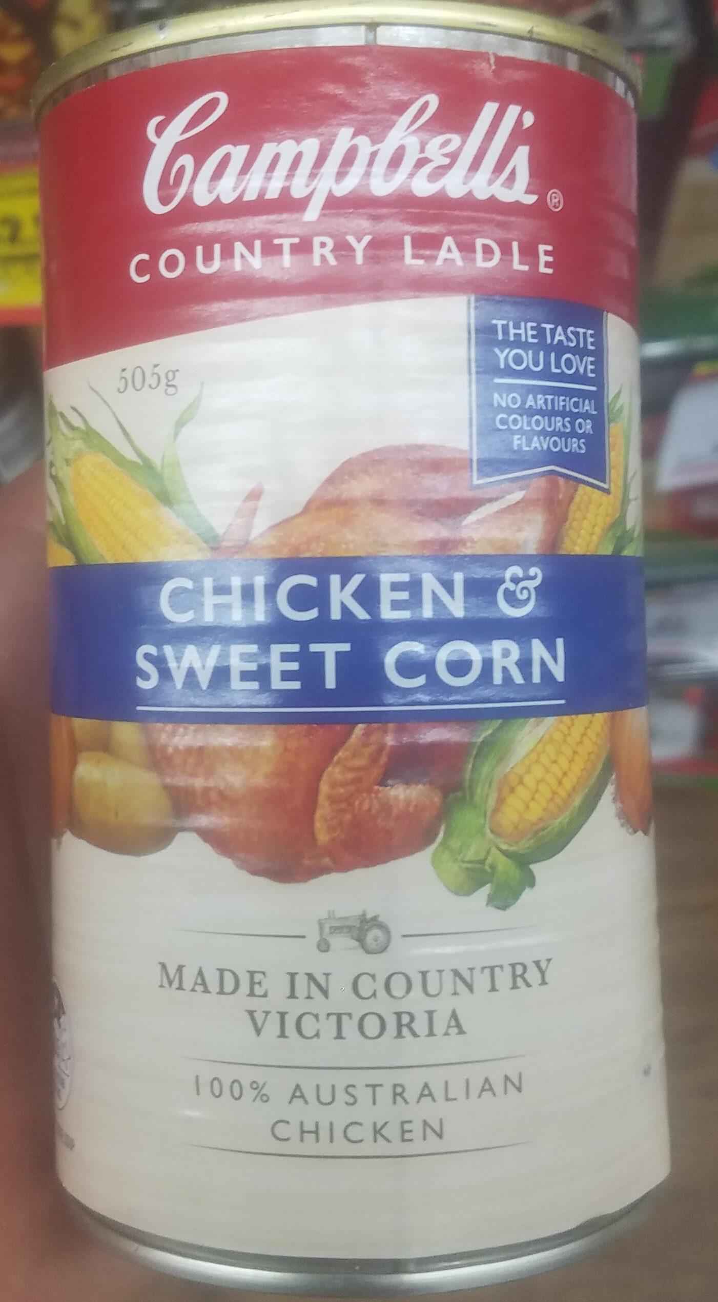 Chicken & Sweet Corn Soup - Product - en