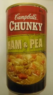 Chunky ham & pea - 1