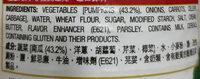 Japanese style cream of pumpkin - Ingrediënten - en