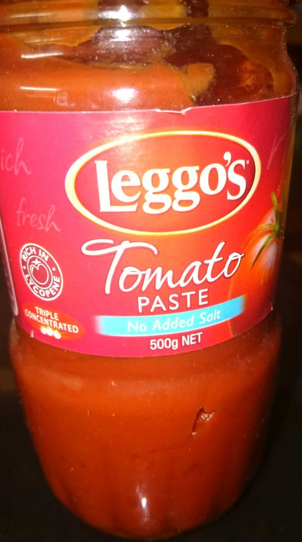 Tomato paste no added salt - Product - en