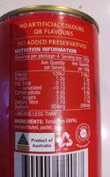 Tomato Puree - Ingredients - en