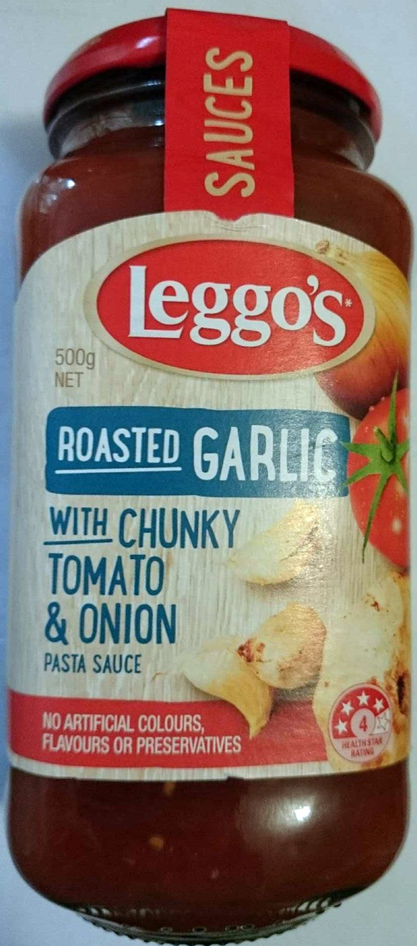 Roasted Garlic with Chunky Tomato & Onion - Product - en