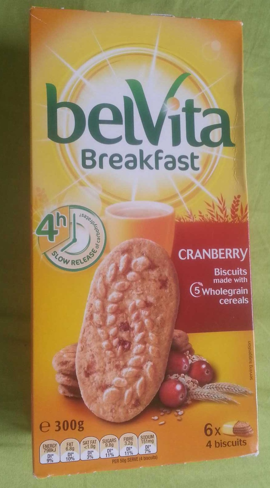 Breakfast Biscuits - Cranberry - Product