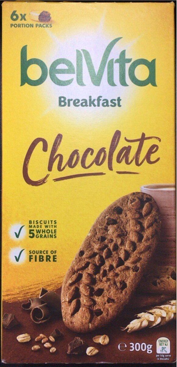 Chocolate Breakfast Biscuits - Product - en