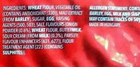 Ritz Snackz Sour Cream & Onion Flavour - Ingredients - en