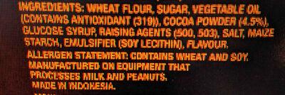 Mini Oreos Mini Oreos - Ingredients - en