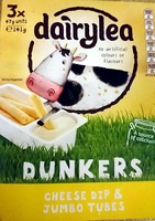 Dunkers - Cheese Dip & Jumbo Tubes - Product