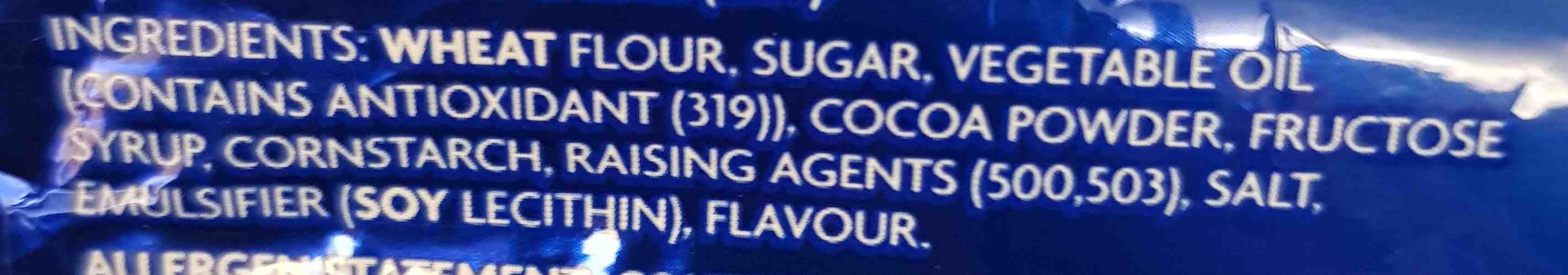 Oreo - Ingredients - en