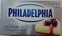 All Natural Cream Cheese Original Block - Product