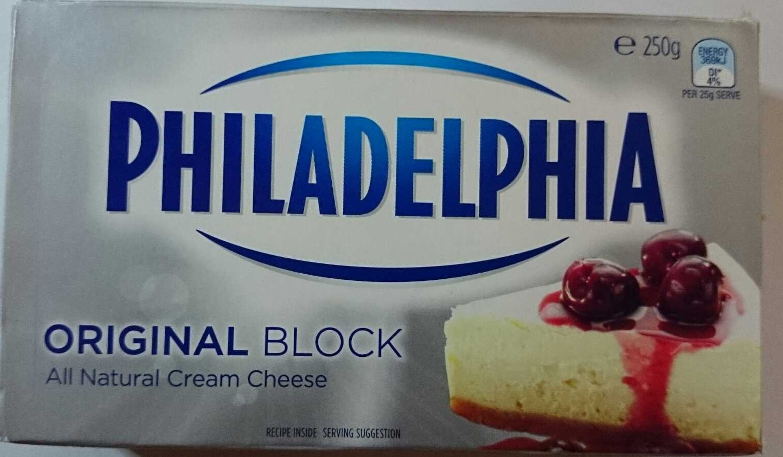 All Natural Cream Cheese Original Block - Produit - en