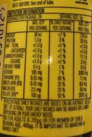 Vegemite - Nutrition facts