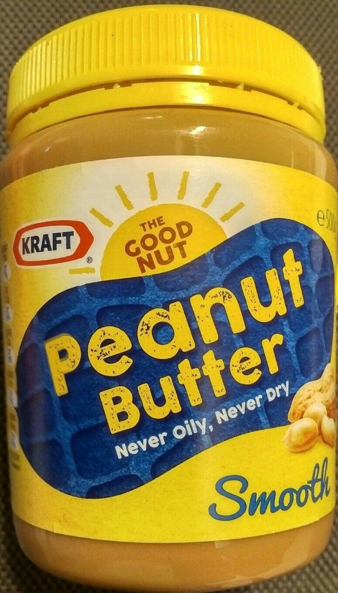 Smooth Peanut Butter 500G - Product - fr