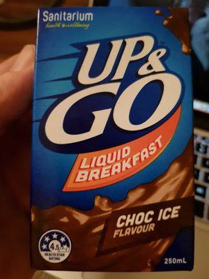 Liquid Breakfast Choc Ice - Produit