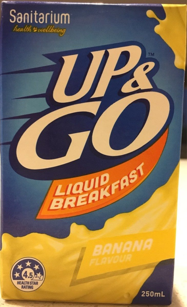 Up & Go Liquid Banana Flavour - Produit - fr