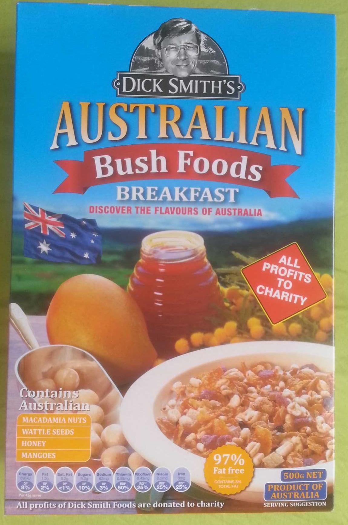 Australian Bush Foods Breakfast - Dick Smith - 500G - Product