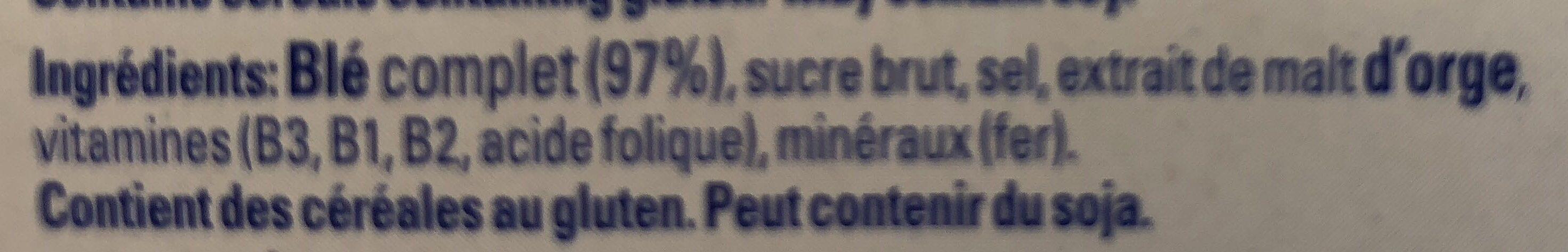 Weet-bix - Ingrédients - fr