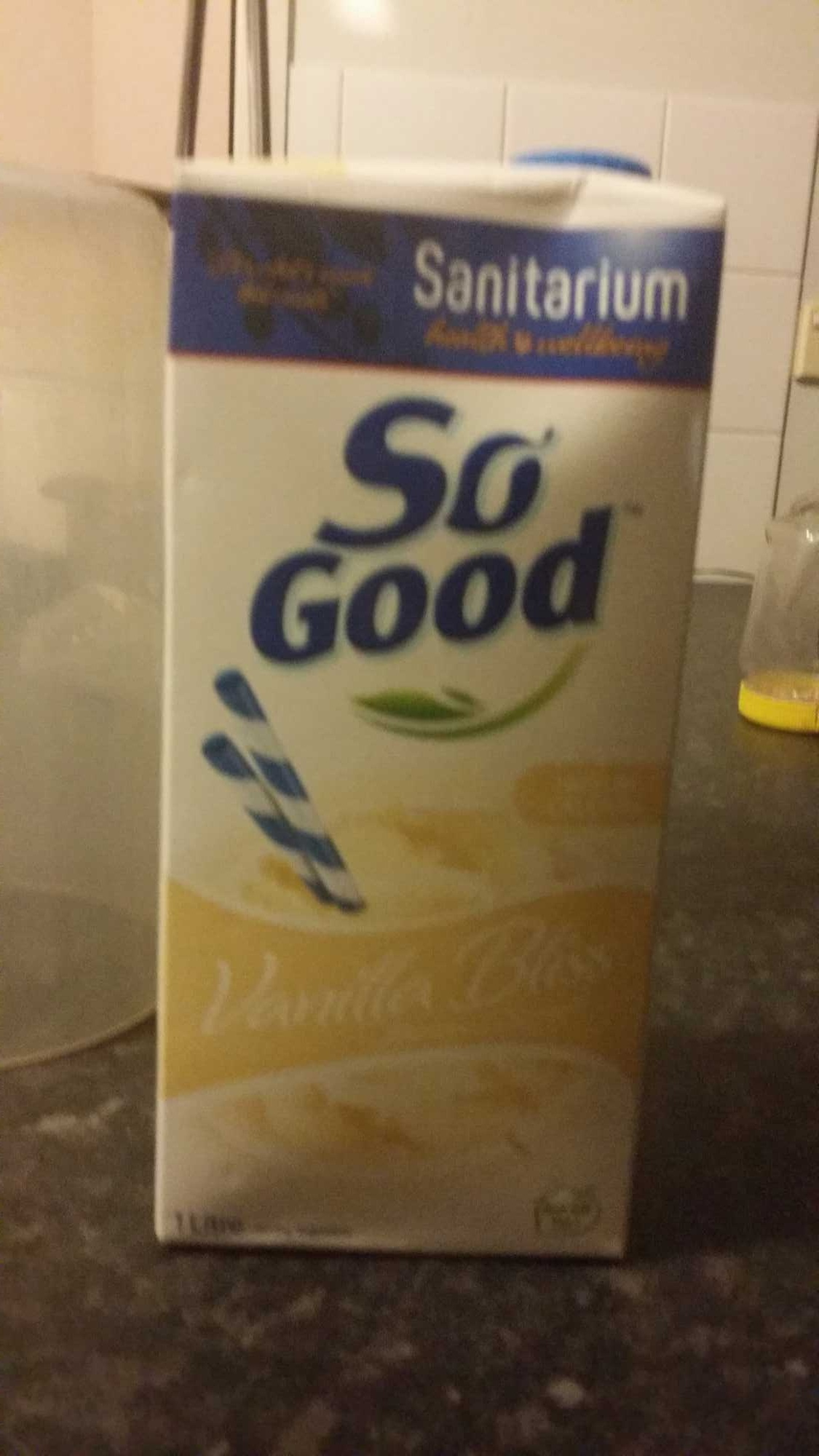 So good vanilla bliss soy milk - Product