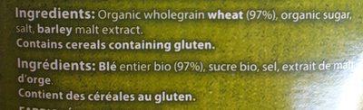 Weet-bix Organic - Ingredients - fr