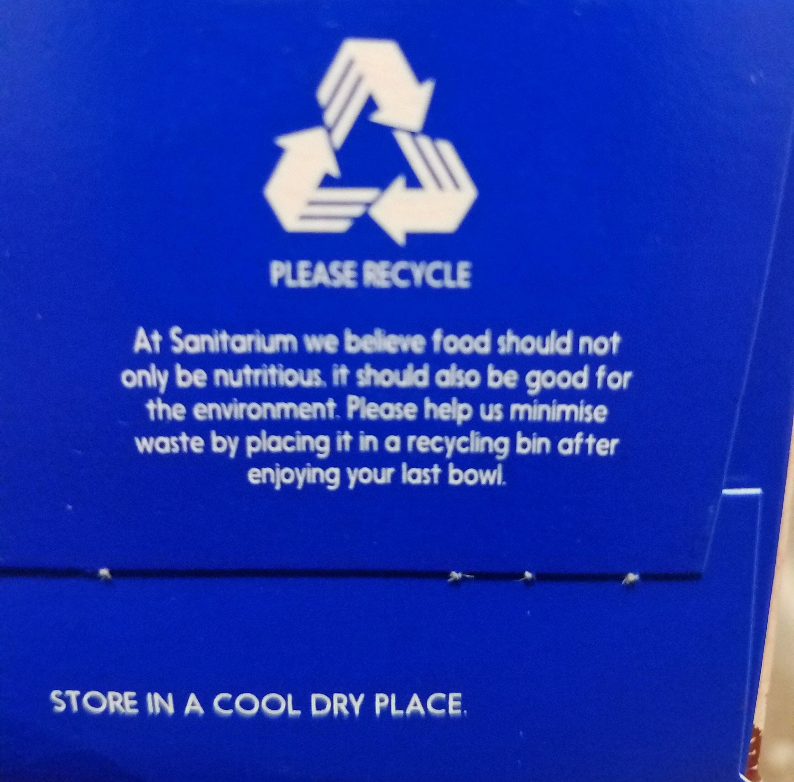 Weetbix Wildberry Bites - Recycling instructions and/or packaging information - en