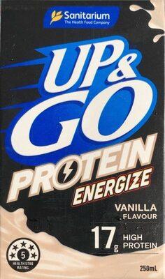 Up & Go Protein Energize Vanilla Flavour - Product - en