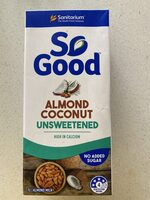 Sanitarium So Good Almond & Coconut Milk Unsweetened Tetra Pk - Produit - fr