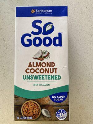 Sanitarium So Good Almond & Coconut Milk Unsweetened Tetra Pk - Produit