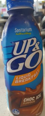 Up & Go Liquid Breakfast Choc Ice - Product