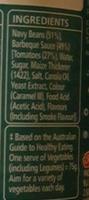 Heinz Beanz BBQ Sauce - Ingredients