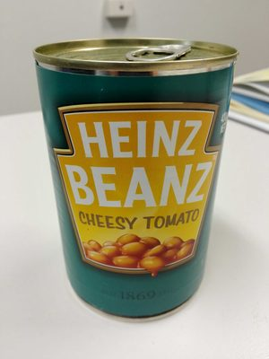 baked beans cheesy tomato - Product - en