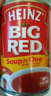 Big Red Soup for One - Product