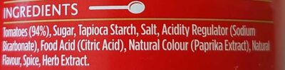 Heinz big red soup for one - Ingredients