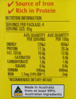 Corned Beef Light - Nutrition facts