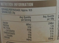 Original Mayonnaise - Nutrition facts