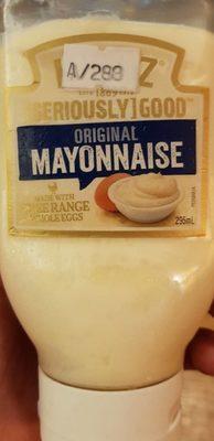 Heinz Whole Egg Mayonnaise - Product - fr
