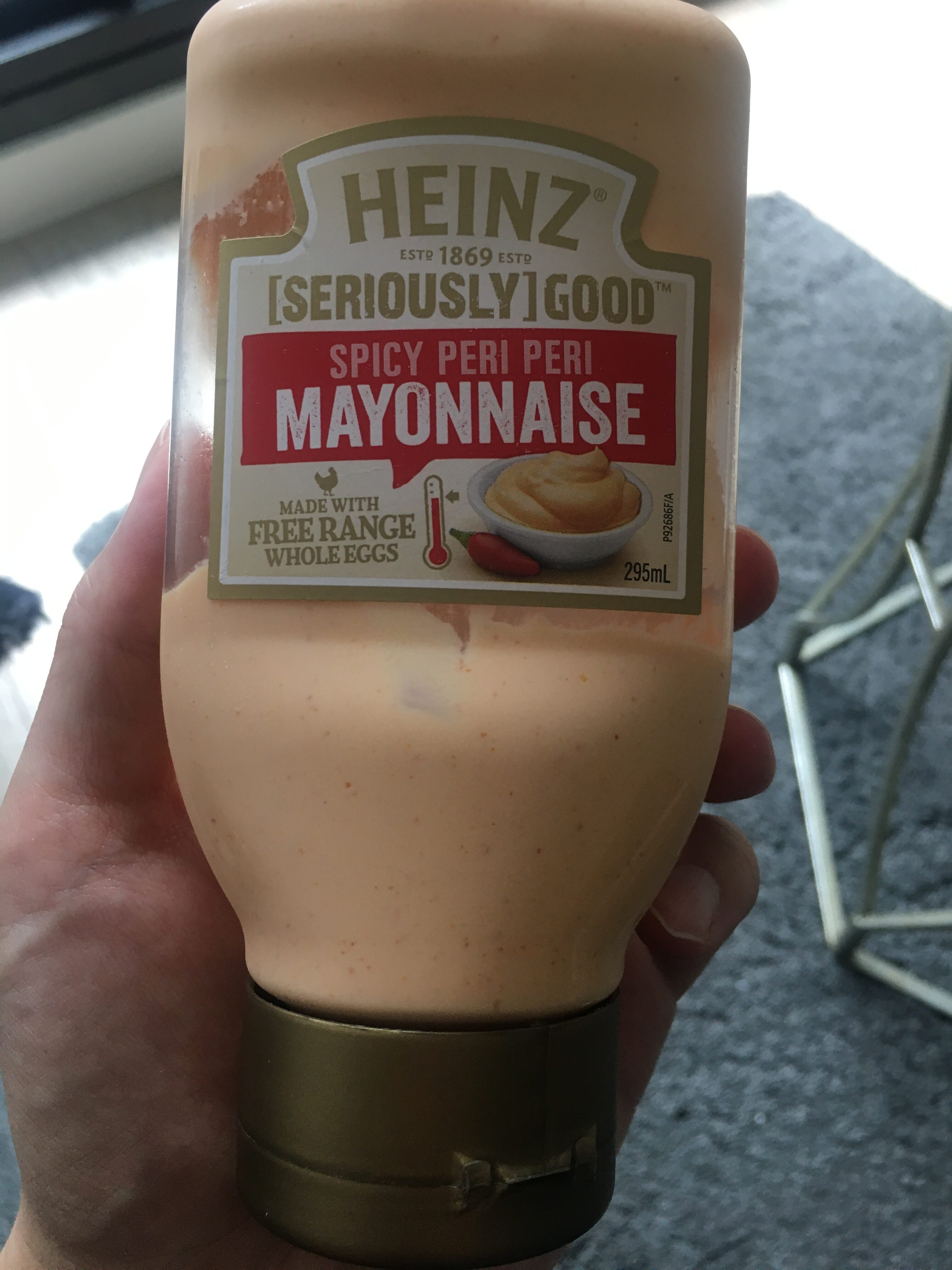 Spicy peri peri mayonnaise - Product - en