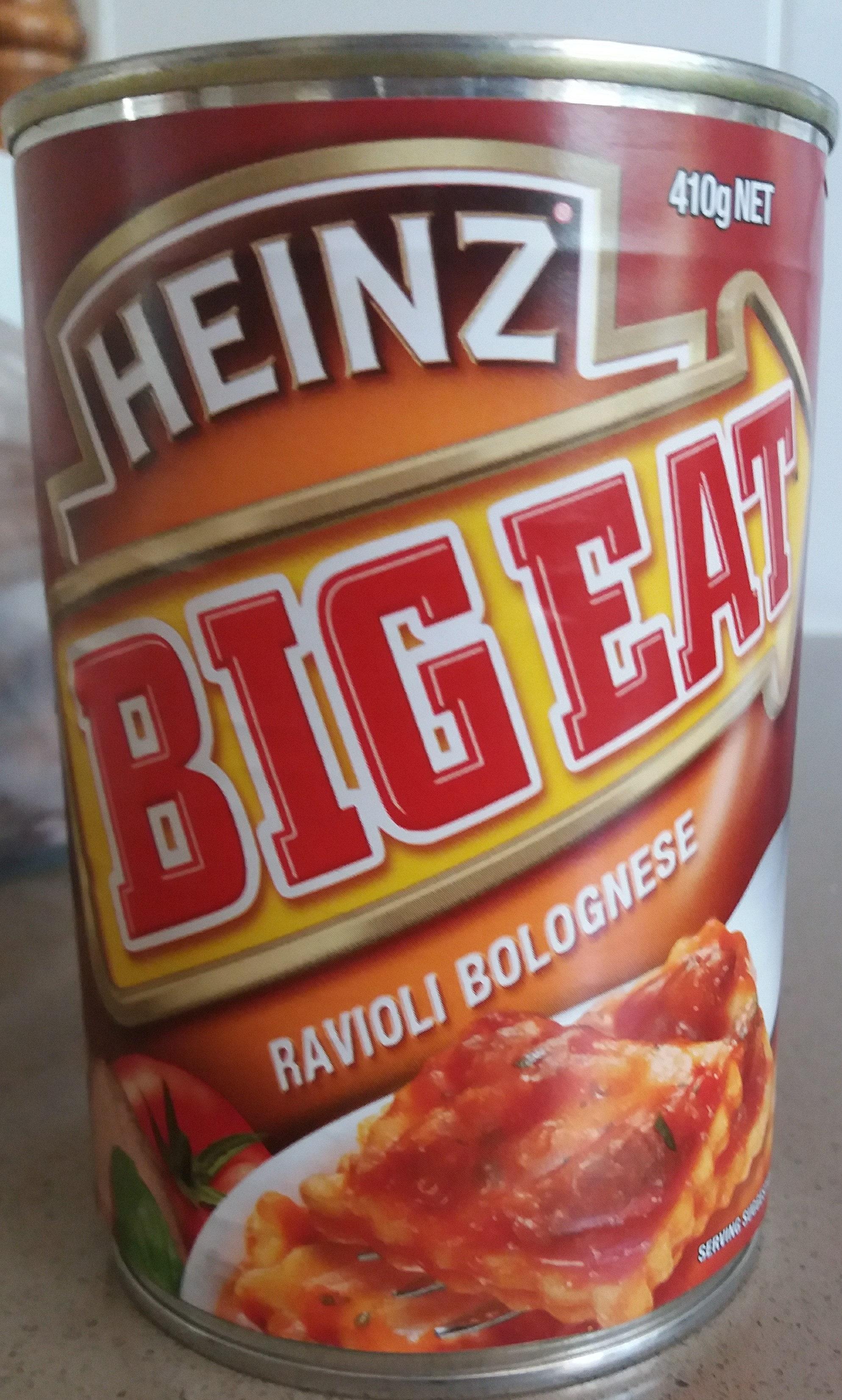 Big Eat Ravioli bolognese - Product - en
