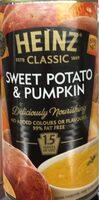 Sweet Potato & Pumpkin Soup - Product - en