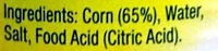 Corn Kernels - Ingredients