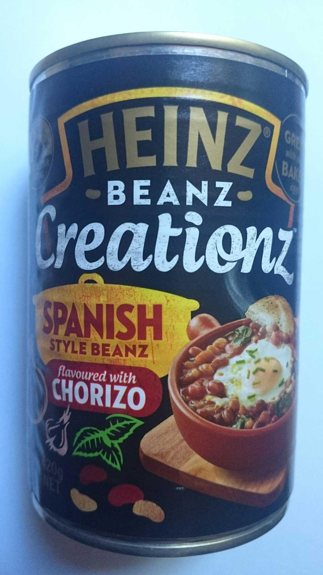 Heinz Beanz Creationz Spanish Style Beaz Chorizo - Product - en