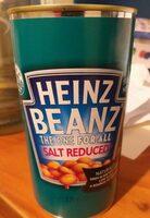 Heinz Beanz Salt Reduced - Prodotto - en
