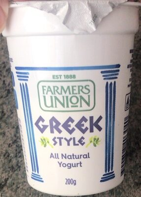 Farm Union Yoghurt Greek Style 200G - Produit - en