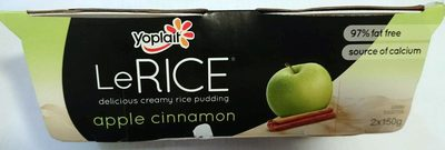 Le Rice - Apple Cinnamon - Product - en