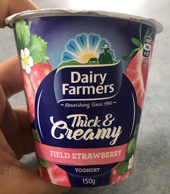 Field strawberry yogurt - Product