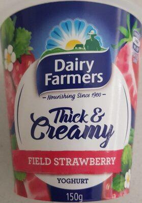 Thick & Creamy Field Strawberry Yoghurt - Product - en